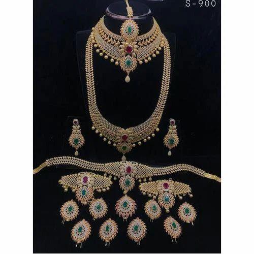 92e47efef1558 Wholesaler of Bridal Jewellery Set & Ladies Bangles by Kannika ...
