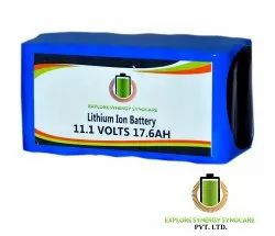 Lithium Ion Battery 18650 11.1V 17.6Ah, 2 Years Warranty