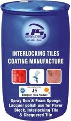 Interlocking Tile Lacquer Coating