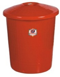 Plastic Garbage Bin with Lid 6005