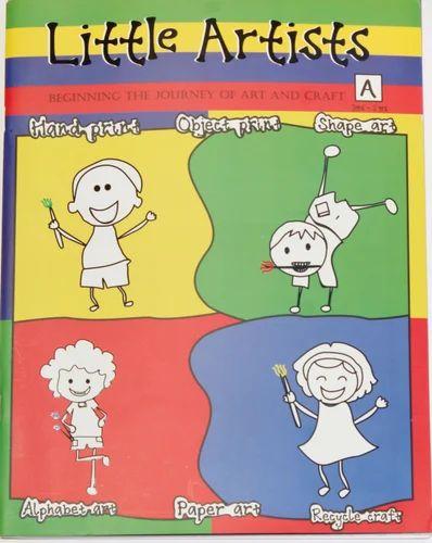 Pre School Colouring Book