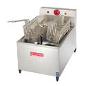 Stainless Steel Electric Deep Fryer Double 3 Ltr