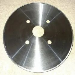 Stainless Steel Round Paper Cutting Blade, For Industrial