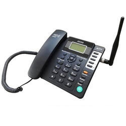 Akom Black GSM Fixed Wireless Phone, Model Number: A777