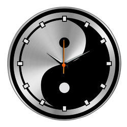 Home Decor Steel Wall Clock