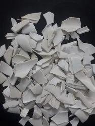 White CPVC Pipe Scrap Cutting