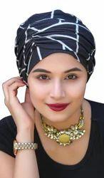 用于化疗患者的头巾脱发帽,尺寸:免费