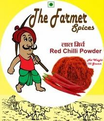 The Farmer Red Chilli Powder, Packaging Type: Packet