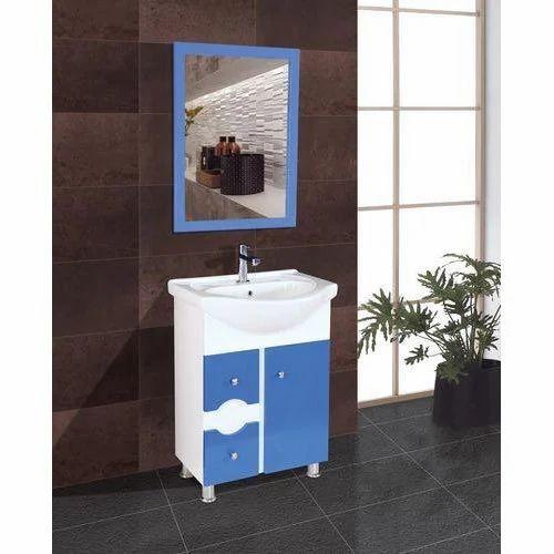 White Bathroom Vanity Cabinet Set, Blue Bathroom Vanity Cabinet