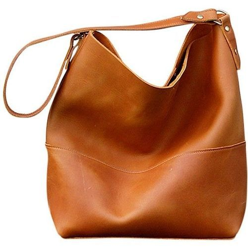 3605d3274ad26 Golden World Ladies Brown Leather Handbag, Rs 1200 /piece | ID ...