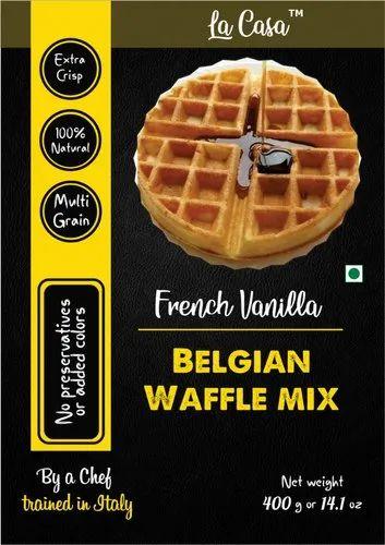 Vanilla Belgian Waffle Mix