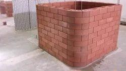 Interlocking Wall Construction Bricks