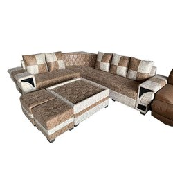 7 Seater Hotel L Shape Sofa Set
