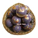 Hand Made Eco-Friednly Paper Mache Hand Painted  Christmas Ornaments Ball / Bauble