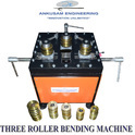 Mild Steel Electric Three Roller Pipe Bending Machine