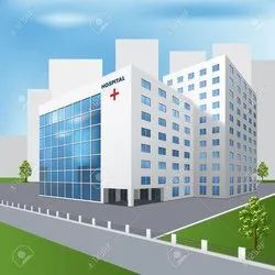 Concrete Frame Structures Commercial Projects hospital Construction