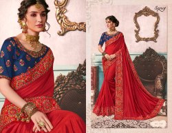 Party Elegant Designer Wear Sarees