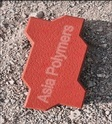 Red Uni Shape Paver