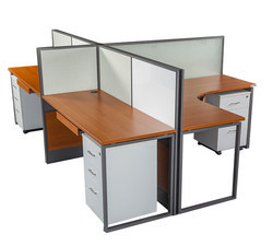 Desking with Center Partition Seater