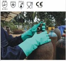KNF15 Green Nitrile Gloves