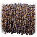 Lapis Lazuli Gemstone Beaded Rosary Chain