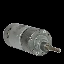 12v DC RS-37-555 Side Shaft Gear, Geared Motor - 100 rpm