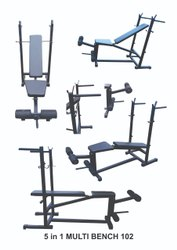 5in1 Multi Weight Bench, ABS