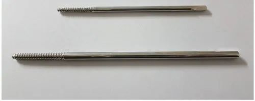 Front Threaded Pin (Schanz Screw) Orthopedic Implant