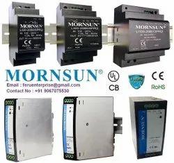 Mornsun Din Rail Ac To Dc Power Supply