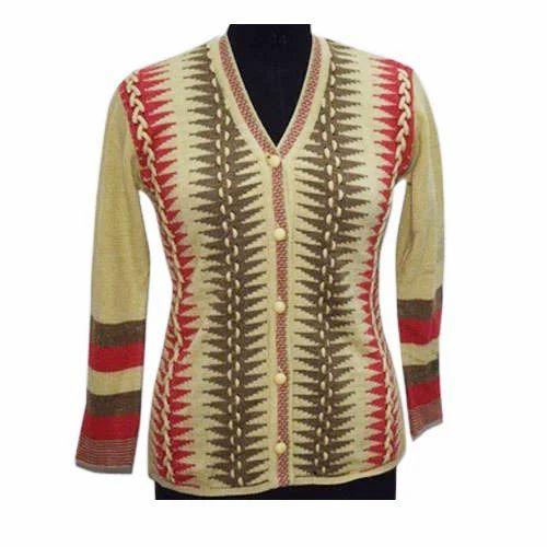 849489b19737 Wish You Full Sleeve Womens Fancy Cardigans, Rs 643 /piece | ID ...