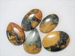 Rare Indonesian Maligano Jasper Loose Stone Cabochons
