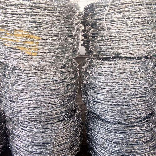 Silver Hot Dipped Galvanized Iron Wire Roll