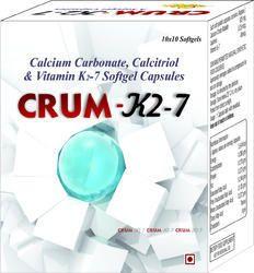Calcium Carbonate Calcitriol Vitamin K2-7