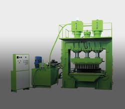 Coir Pith Disc Making Machine Double Mode