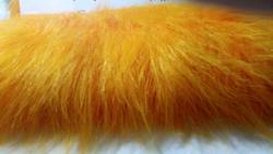 Plain Multicolor 110 Mm Long Pile Fur for Soft Toys