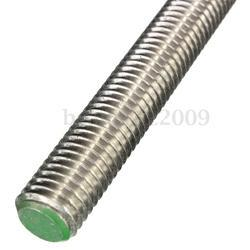 Steel Threaded Rod, Thickness: 1-2 inch, Length: 3 meter