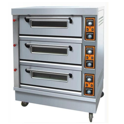Triple Deck Gas Baking Oven