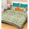 Double Bed Printed Bedsheets