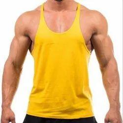 Men's Plain Cotton Vest