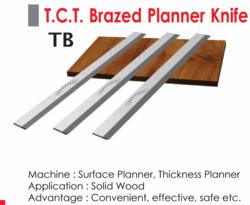 T C T Brazed Planner Knife
