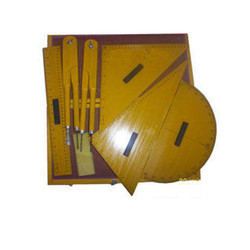 Black Board Set Wooden
