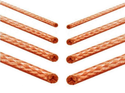 Flexible Circular Copper Braids