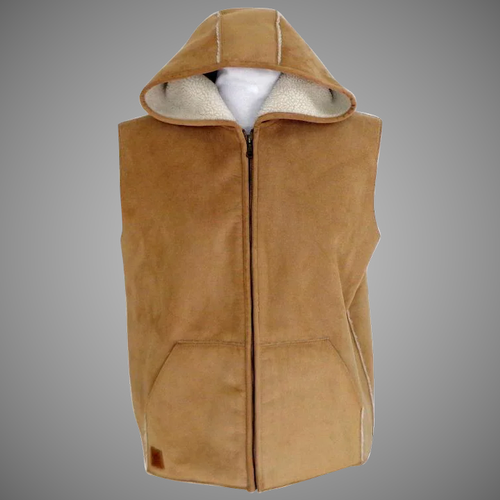 Hooded Plain Sleeveless Mens Fashion Hoodies, Handwash, Zip, Rs 250 /piece  | ID: 21901956630