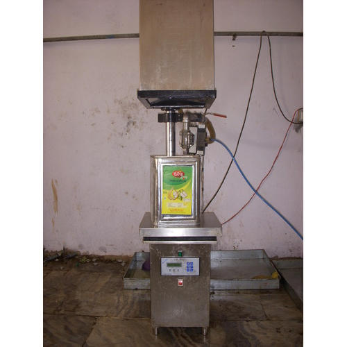 Chamunda Oil Tin Filling Machine