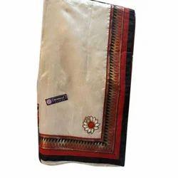 Border Designer Saree, 5.5 M (separate Blouse Piece)