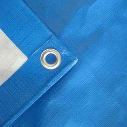 蓝织PE防水布