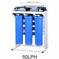 Pure Oxidane Mild Steel And FRP Domestic Reverse Osmosis System, Automation Grade: Semi-Automatic, RO Capacity: 50 Liter/hour