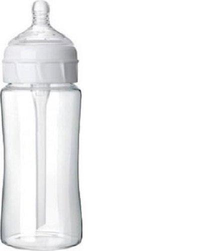 White QTH FEEDING BOTTLE, Age Group: 3-12 Months