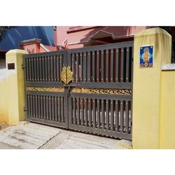Color Coated Square Tube Gate