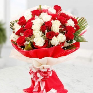 elegant affection flowers buke flower aura mumbai id 16431112573